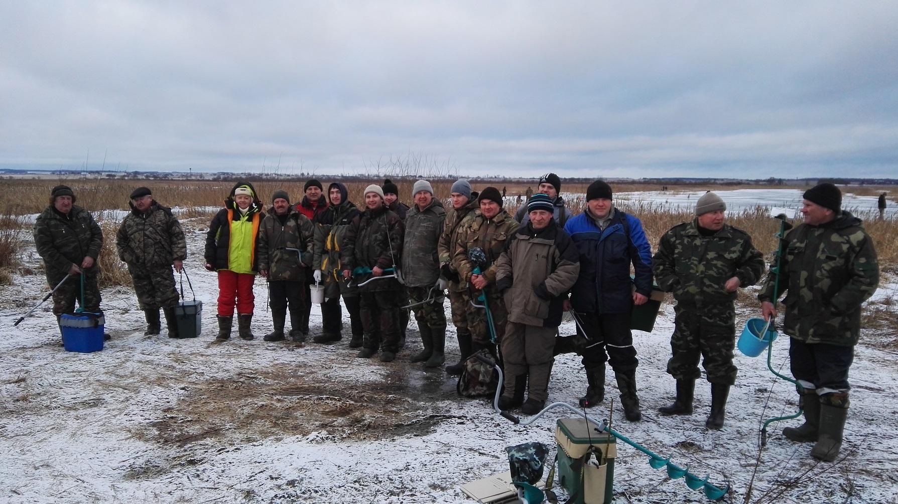 В организации прошло открытое соревнование ОАО «ТБЗ Усяж» по зимней ловле рыбы со льда «Праздник рыбака — 2017!»
