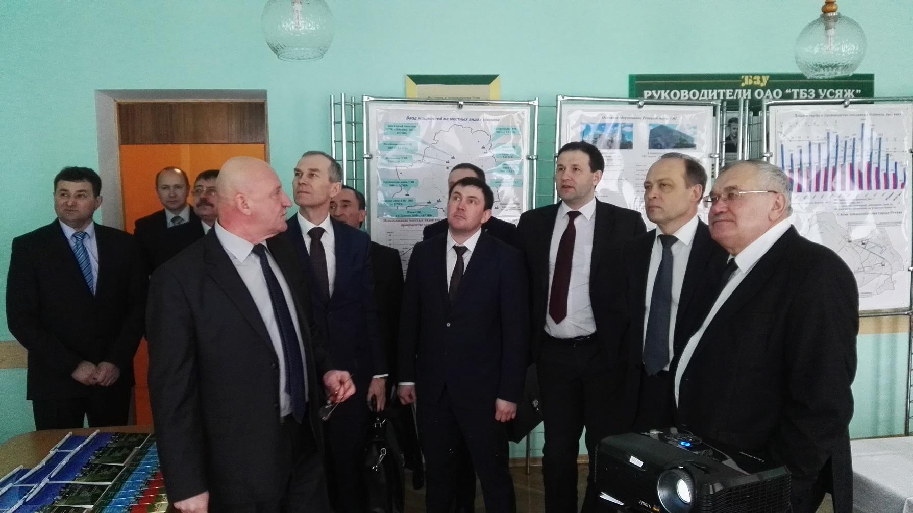 Официальная делегация Свердловской области Российской Федерации посетила ОАО «ТБЗ Усяж»