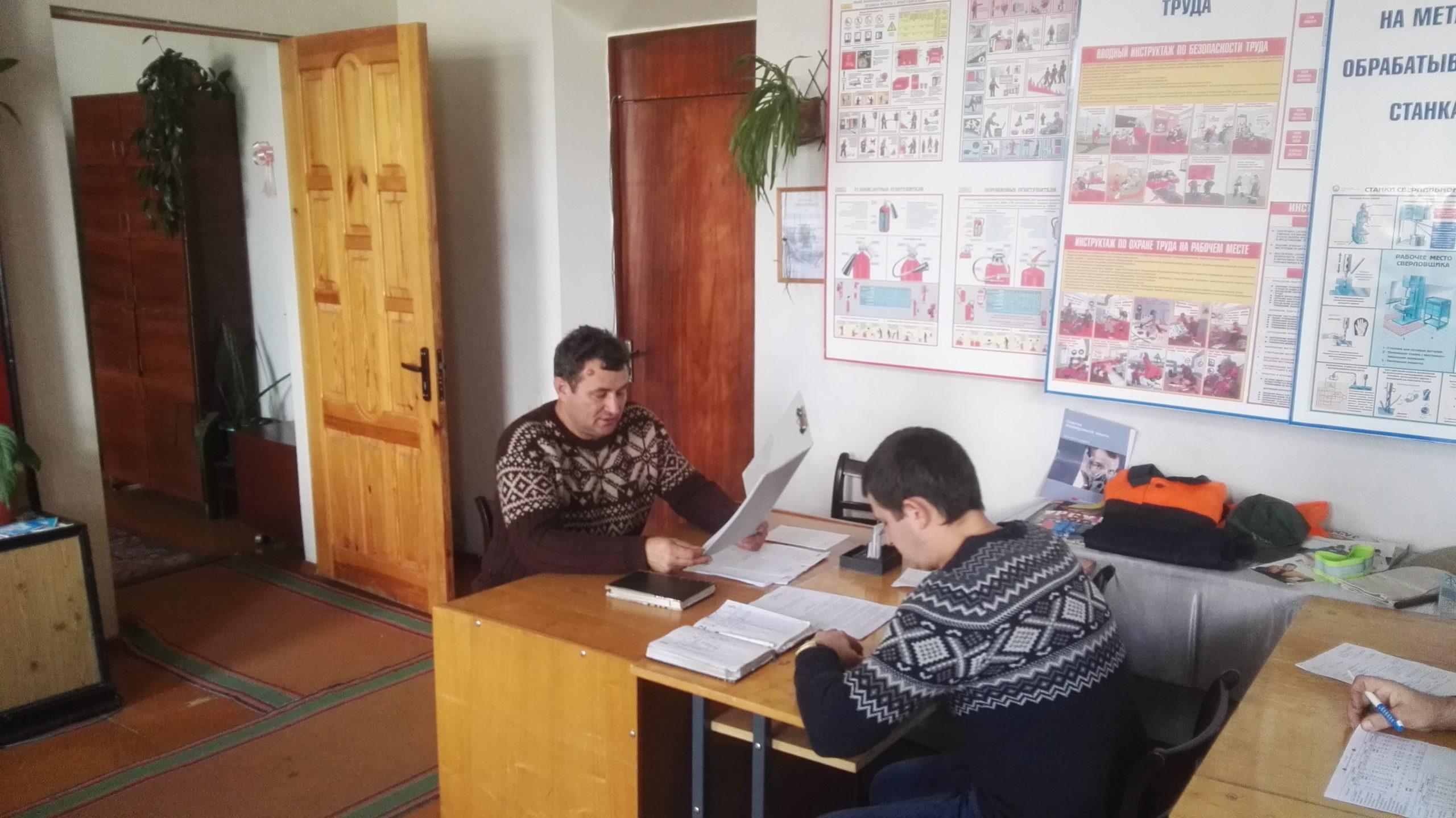 Расширенное заседание рабочей группы ОАО «ТБЗ Усяж». Декрет 1