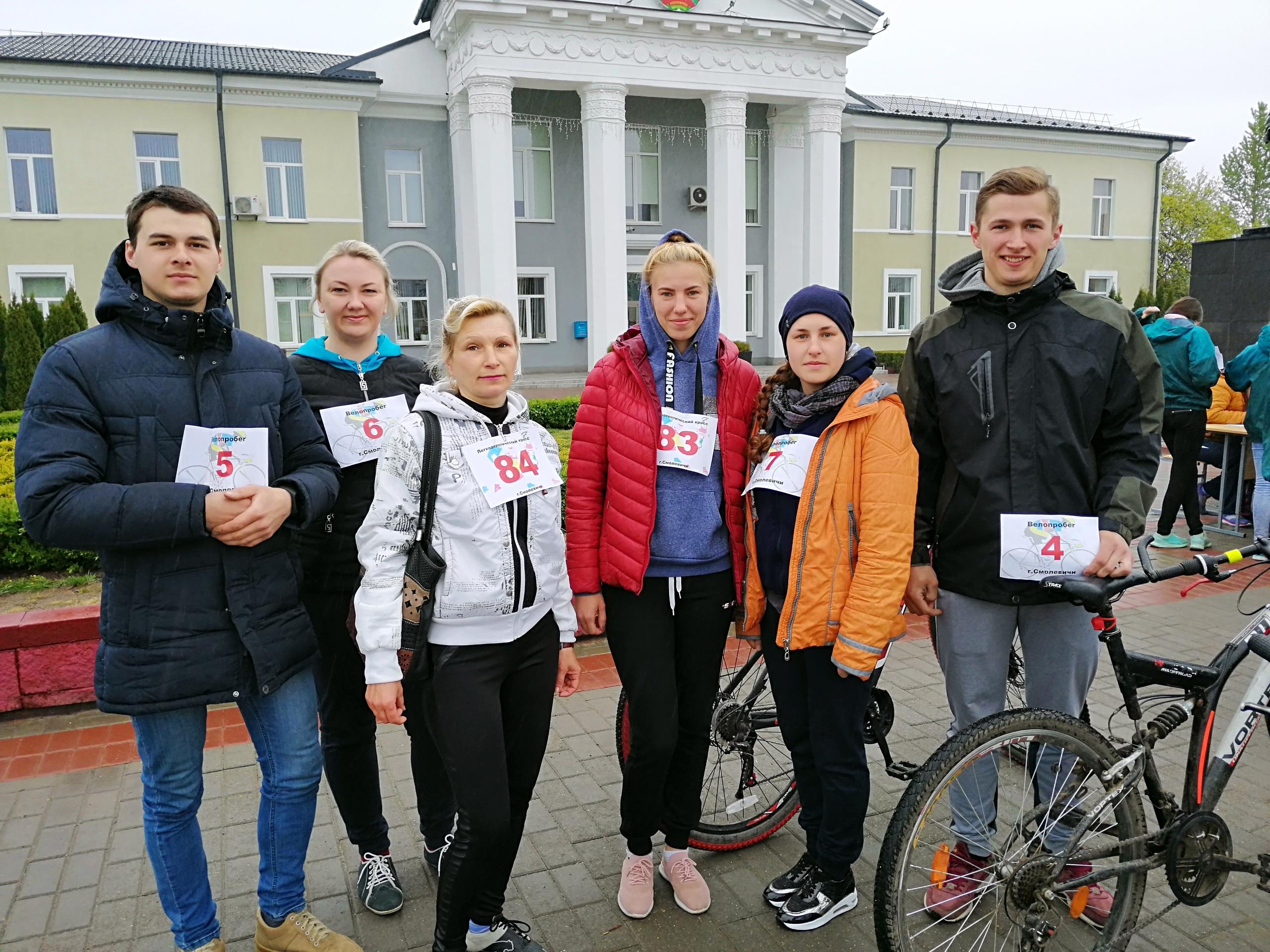 Участие в Смолевичском легкоатлетическом забеге посвященном Великой победе