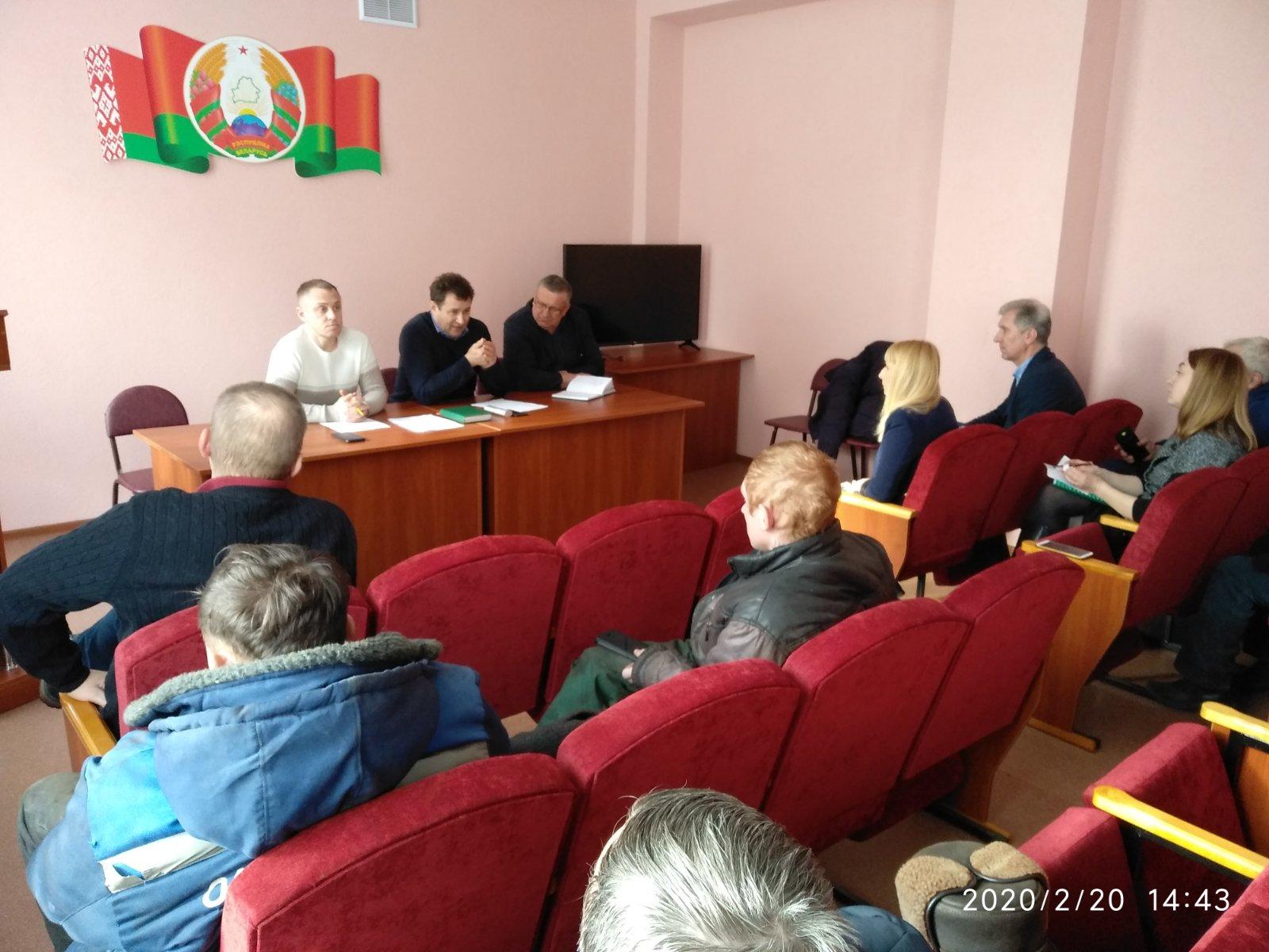 Собрание трудового коллектива филиала «Цна»