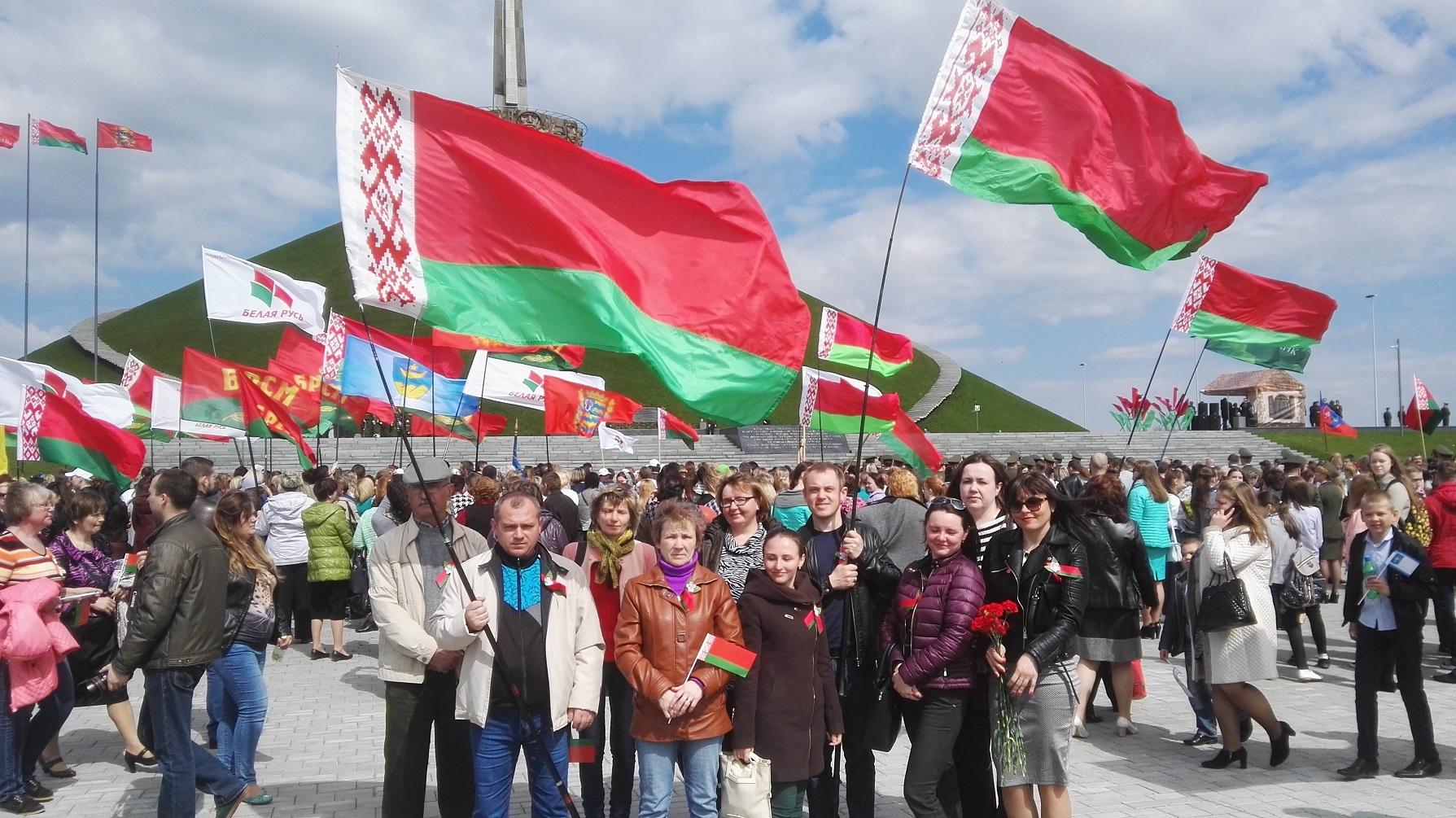 Участие в торжественном мероприятии посвященном 72-й годовщине Победы советского народа в Великой Отечественной войне