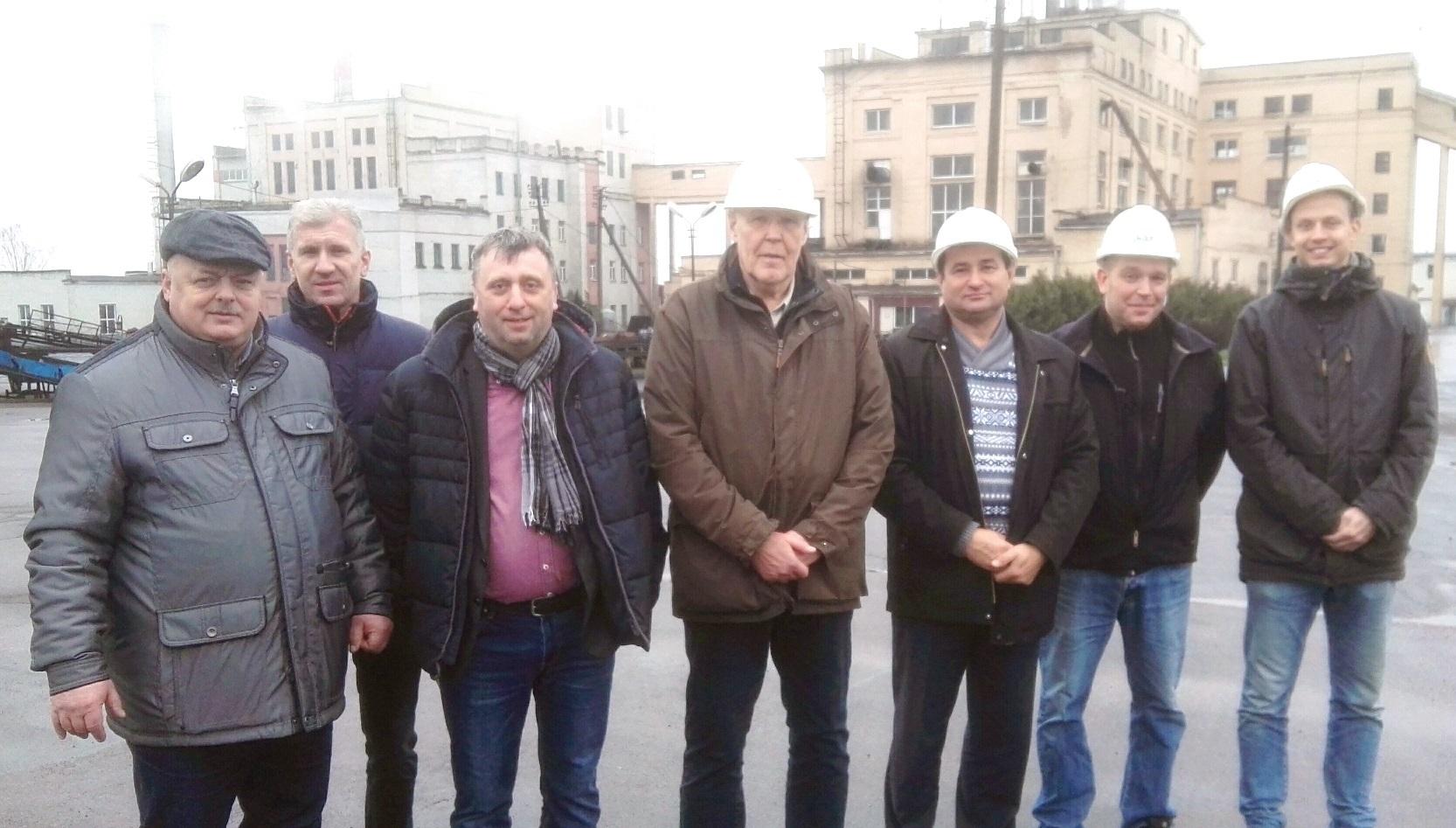 Представители  организации ЗАО «NEST Baltija» (Литовская Республика) и компании «Condens Heat Recovery Oy» (Финляндская Республика) посетили ОАО «ТБЗ Усяж»