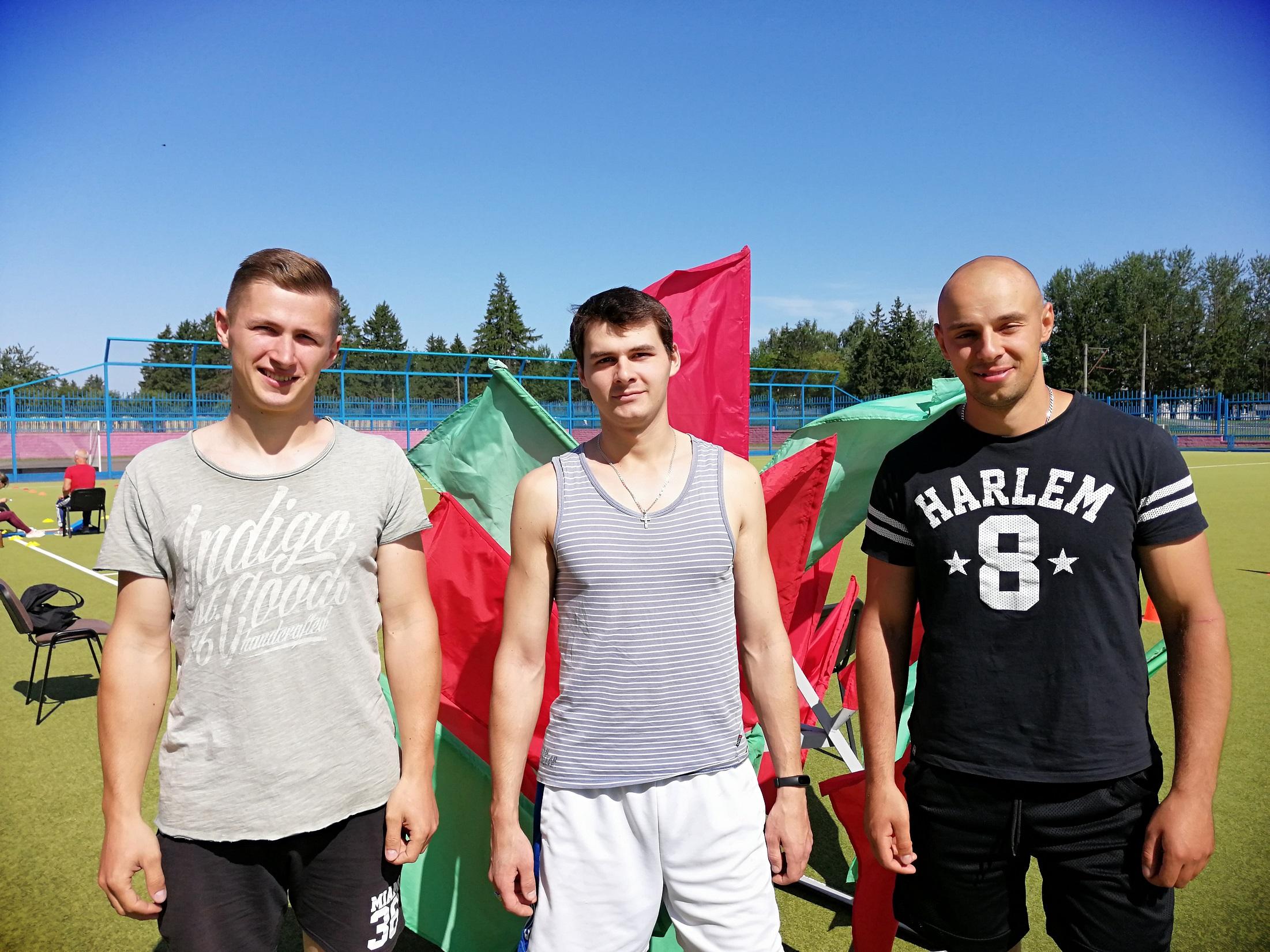Сдача нормативов Государственного физкультурно-оздоровительного комплекса Республики Беларусь.